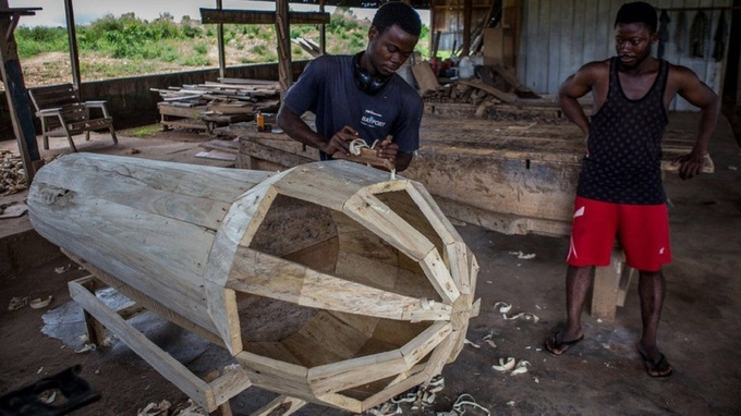 Tục mai táng dùng quan tài trị giá tới 1.000 USD ở Ghana 11:11   20/06/2019